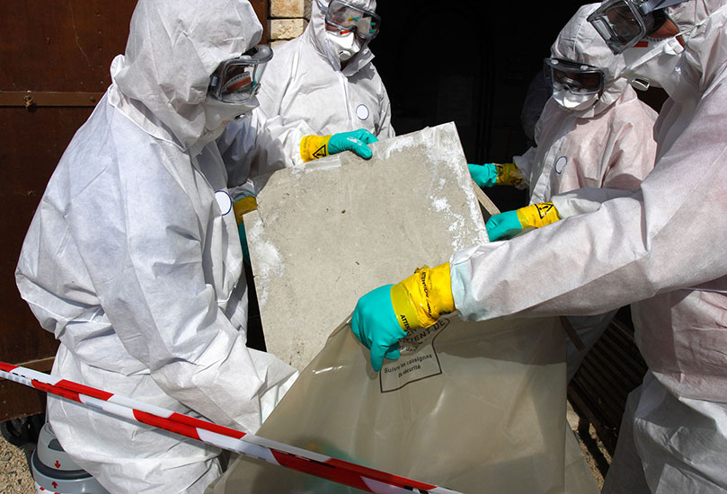 Asbestsanering västerbotten